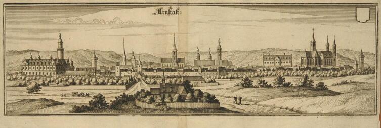 Арнштадт, Тюрингия, Германия. 1650 г.
