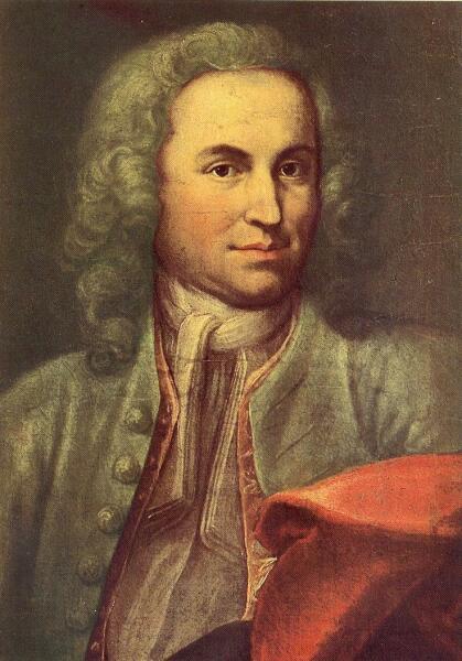 Иоганн Эрнст Rentsch (Старший), «Композитор Иоганн Себастьян Бах», 1715 г.