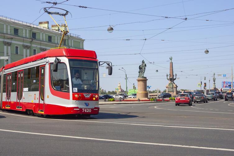 Трамвай в Санкт-Петербурге