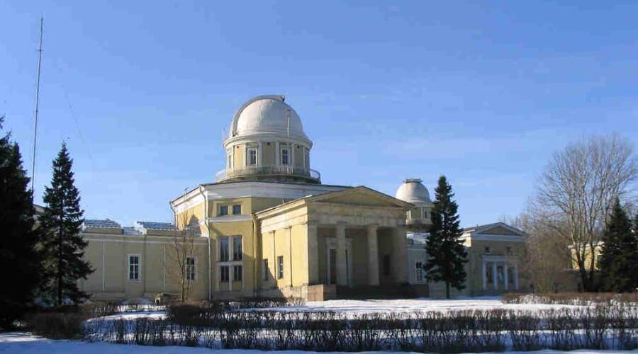 Главное здание Пулковской обсерватории