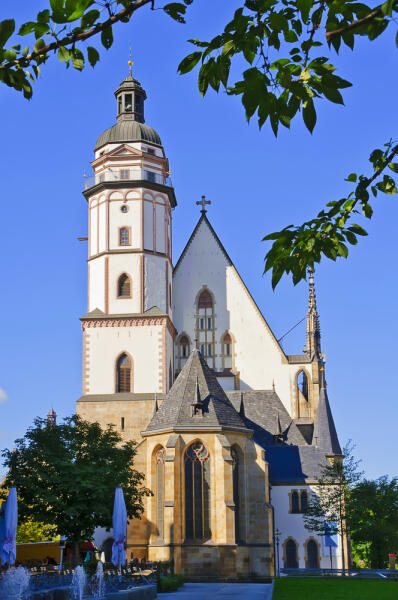 Церковь Святого Фомы в Лейпциге