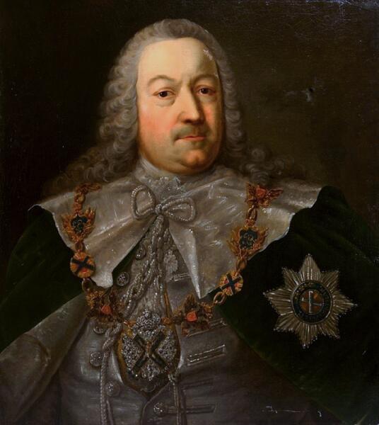 Герман Карл фон Кейзерлинг (Президент Академии наук и художеств Российской империи. 9 августа 1733 — 23 сентября 1734)