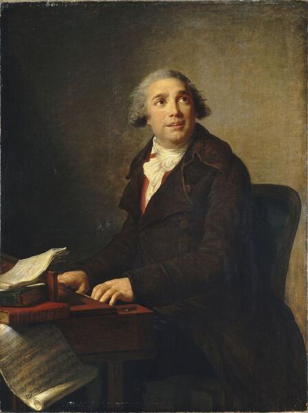 Виже-Лебрен, «Композитор Джованни Паизиелло», 1791 г.