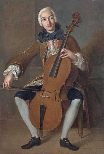 Предпологаемый автор Помпео Джироламо Батони, «Композитор Луиджи Родольфо Боккерини», ок. 1764—1767 гг.