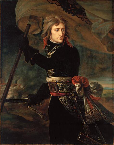 Антуан-Жан Гро, «Наполеон Бонапарт на Аркольском мосту»