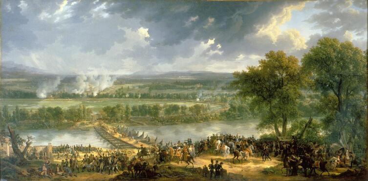 Луи Бакле д'Альб, «Сражение при Арколе», 1804 г.