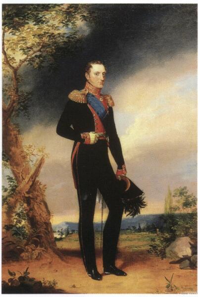 Джордж Доу, «Портрет Николая I», 1828 г.