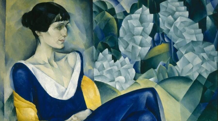 Натан Альтман, «Анна Ахматова» (фрагмент), 1914 г.