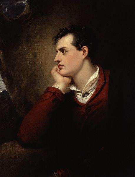 Ричард Уэстолл, «Джордж Гордон Байрон, 6-й барон Байрон Ричард Уэстолл», 1813 г.