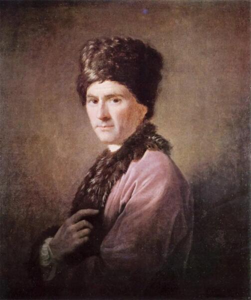 Аллан Рэмзи, «Жан-Жак Руссо», 1766 г.