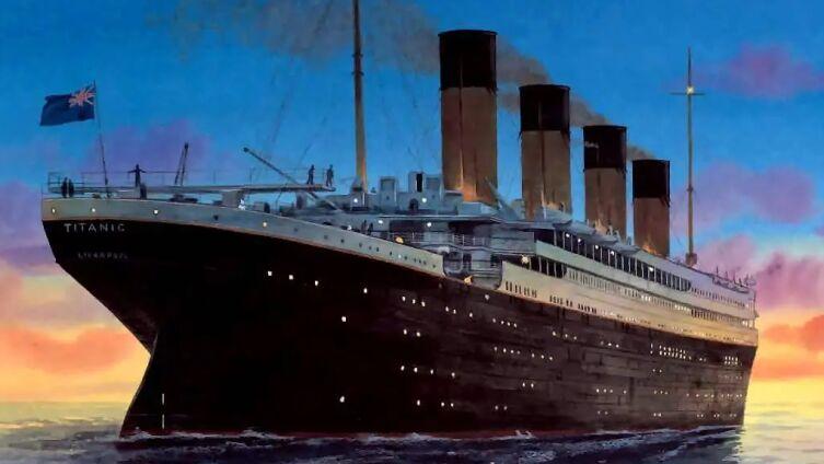 Патрик Обриен, «Титаник»