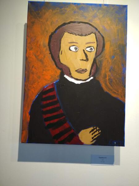 Выставка юного художника в «Артмузе»: что рисует особенный мальчик?