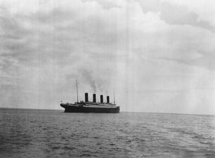 Титаник покидает Квинстаун