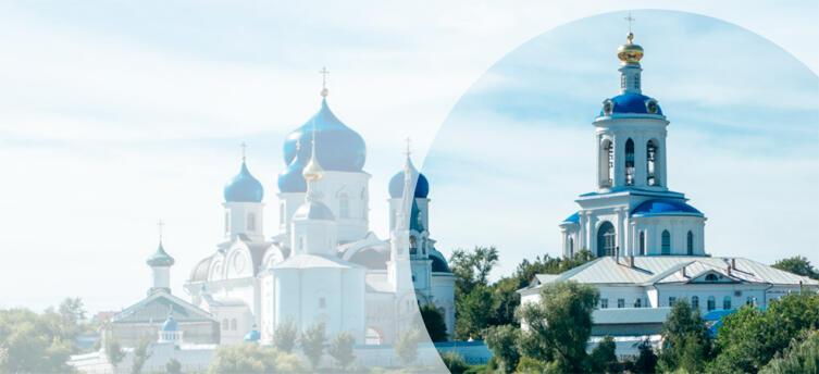 Успенская церковь и Всехсвятская колокольня