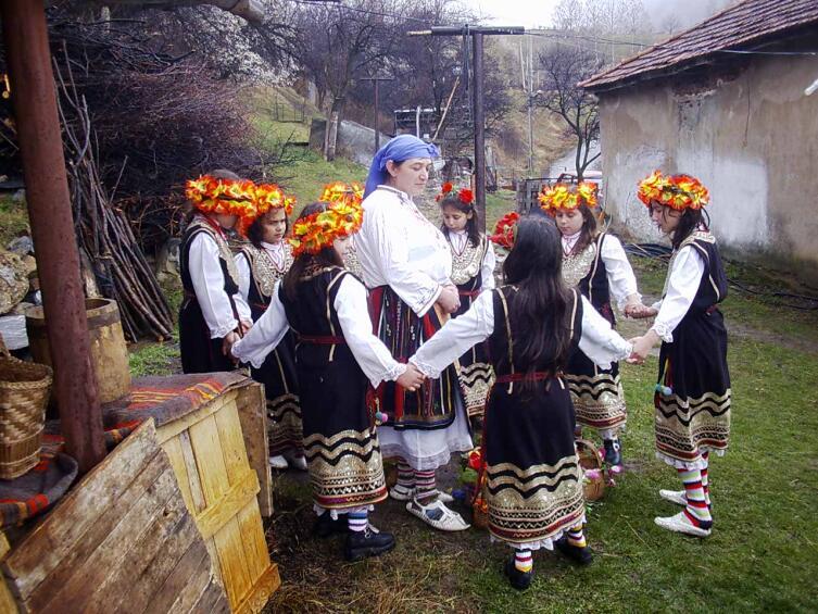 Лазарование в Болгарии