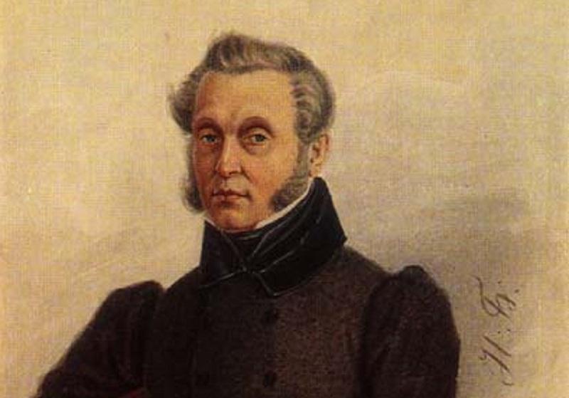 Н. А. Бестужев, «Иван Семёнович Повало-Швейковский» (фрагмент), 1839 г.
