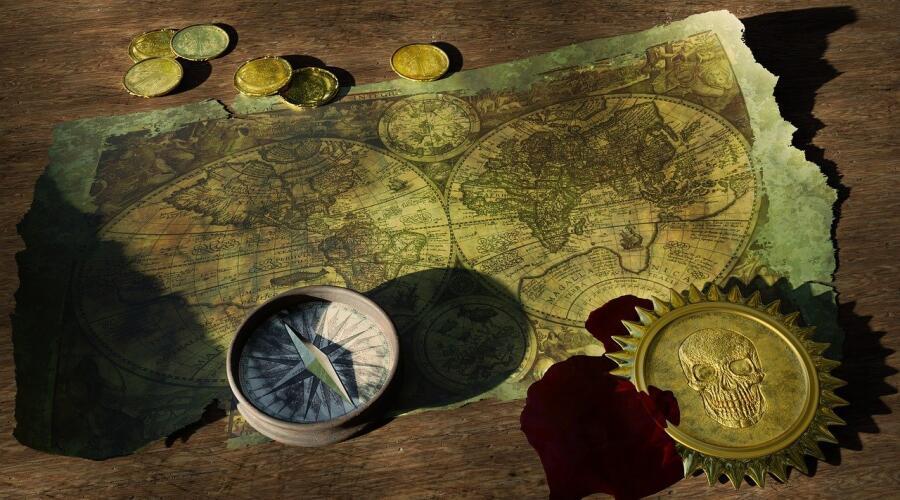 Как изготовить карту сокровищ?