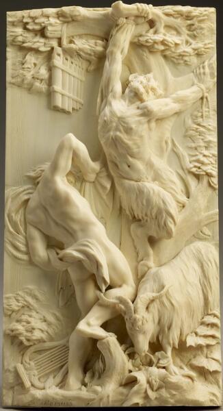 Френсис ван Боссье, «Аполлон сдирает шкуру с Марсия», 1670 г.