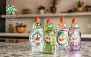 Продукция Fairy Pure&Clean получила экологический сертификат международного уровня «Листок жизни»