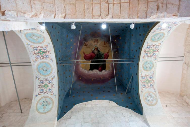 Роспись на сводах началаXX века