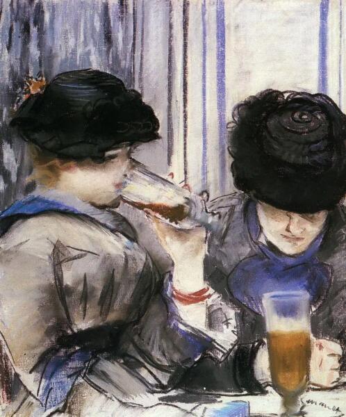 Эдуар Мане, «Две женщины, пьющие пиво», 1878 г.