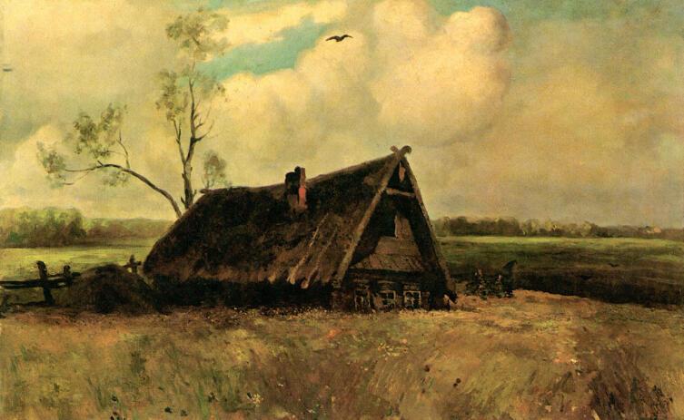 А. К. Саврасов, «Дом совета в Филях», 1893 г.