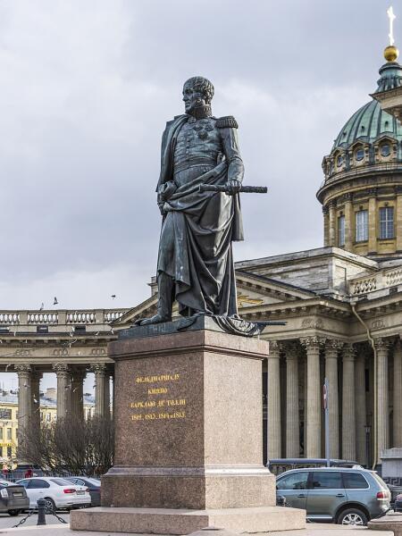 Памятник Михаилу Богдановичу Барклаю-де-Толли в Санкт-Петербурге