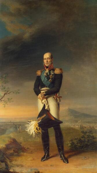 Джордж Доу, «Михаил Богданович Барклай-де-Толли», 1829г.