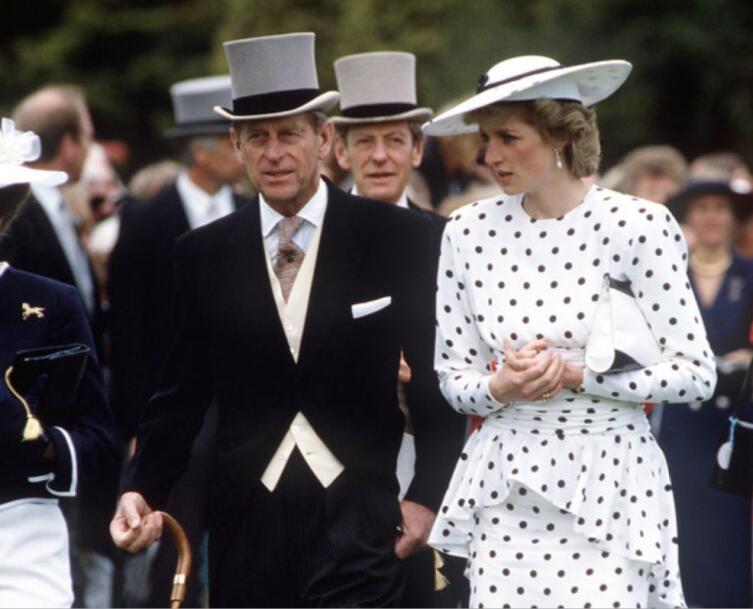 Принц Филипп и принцесса Диана