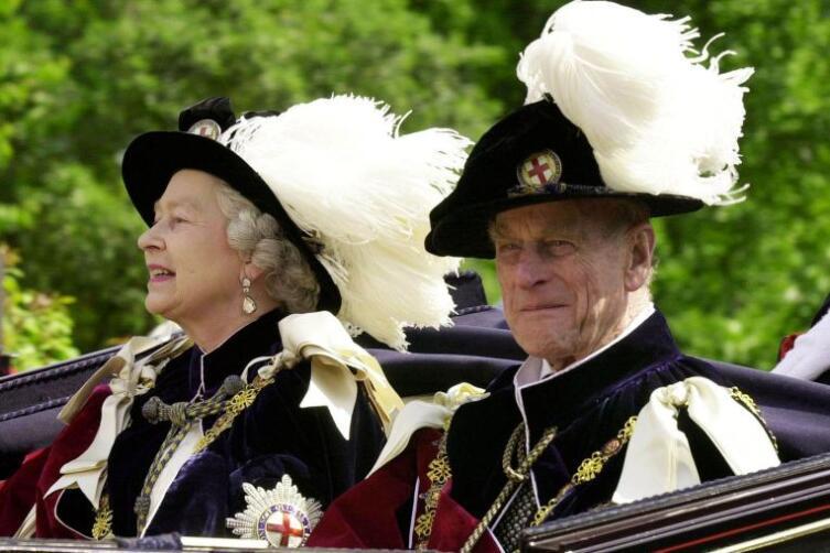 Елизавета II и герцог Эдинбургский