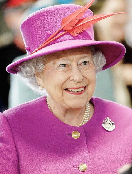Елизавета II в 2015 г.