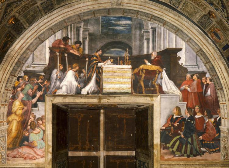 Рафаэль Санти, «Месса в Больсене», 1512 г.
