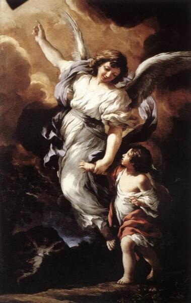Пьетро Да Кортона, «Ангелы хранители»