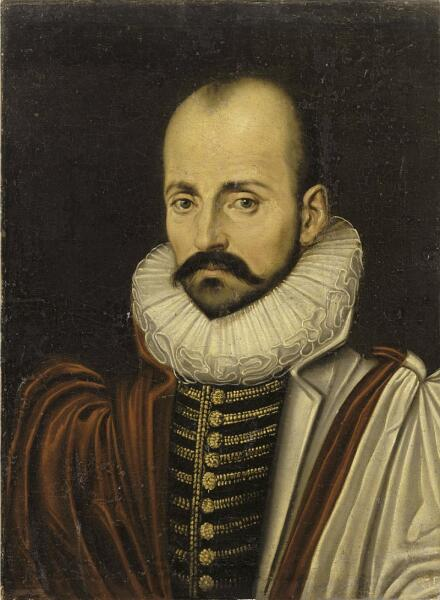 Мишель Монтень. Портрет работы неизвестного художника, ок. 1570 г.