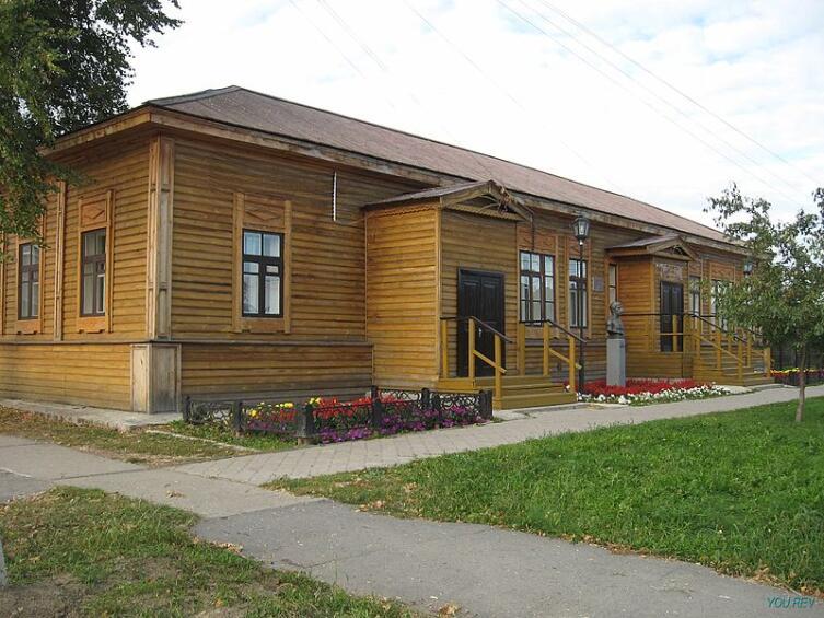 Здание, в котором размещалась школа в 1846 г.
