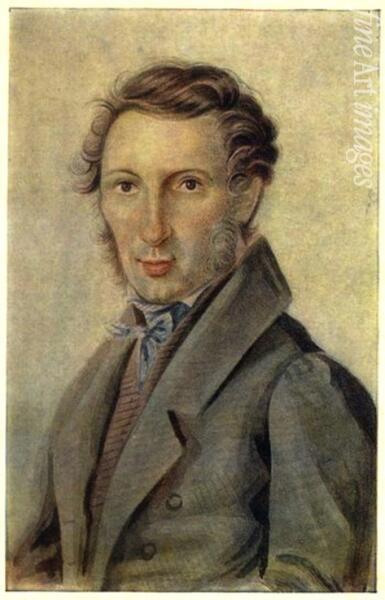 Сергей Трубецкой, портрет 1830-х гг.