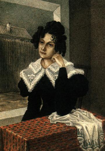 Мария Волконская, 1828 г.