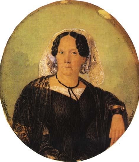 Полина Анненкова, 1852 г.