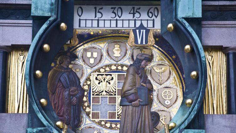 Часы Анкерура в Вене