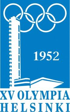 Эмблема Олимпийских игр в Хельсинки, 1952 г.