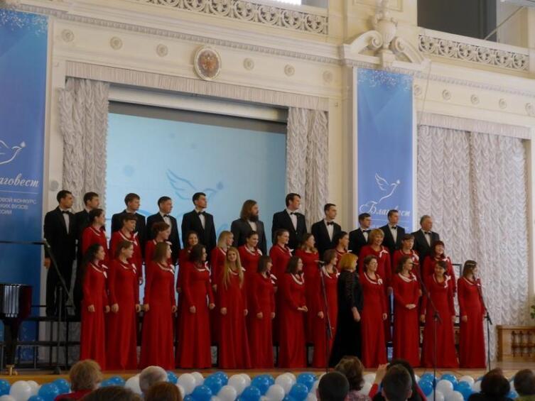Хор Ульяновского Университета, получивший Гран при конкурса