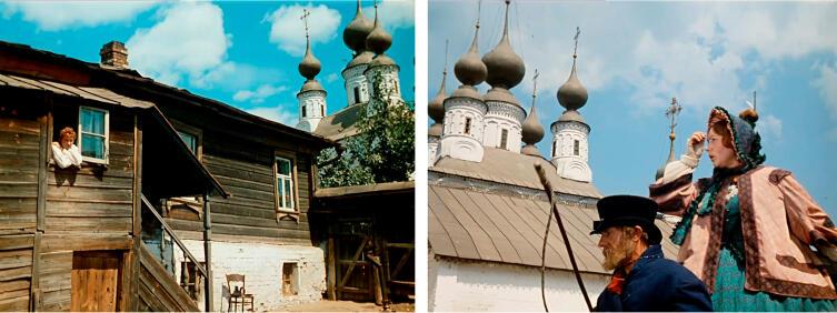 Где снимался фильм «Женитьба Бальзаминова»?