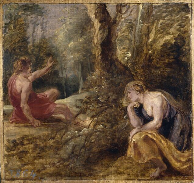 Рубенс, Кефал и Прокрида, 1636г., Прадо, Мадрид, Испания