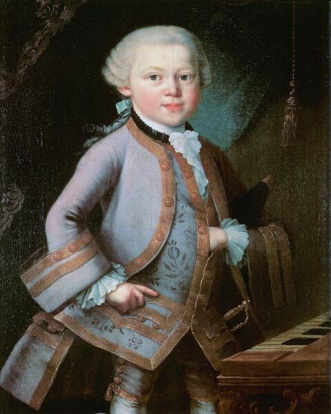Моцарт в 6 лет