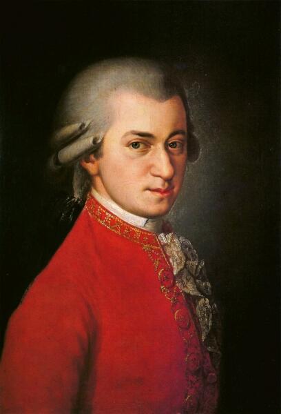Посмертный портрет Моцарта