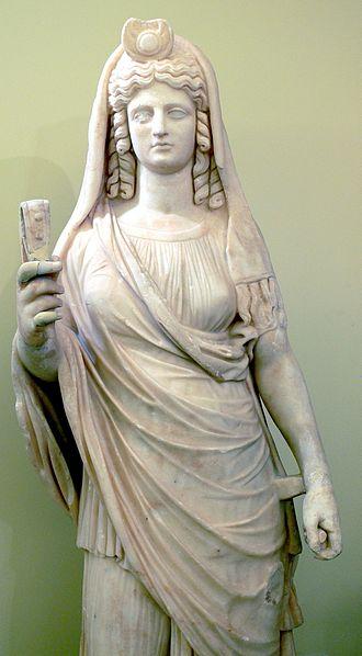Статуя Персефоны