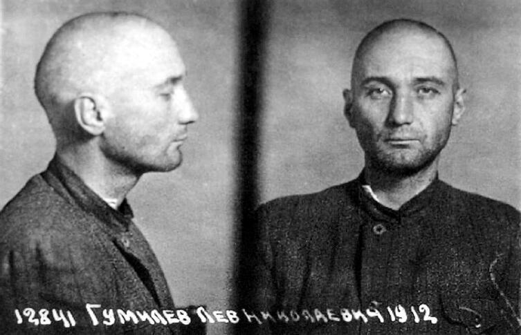 Лев Гумилев, фото из следственного дела, 1949 г.