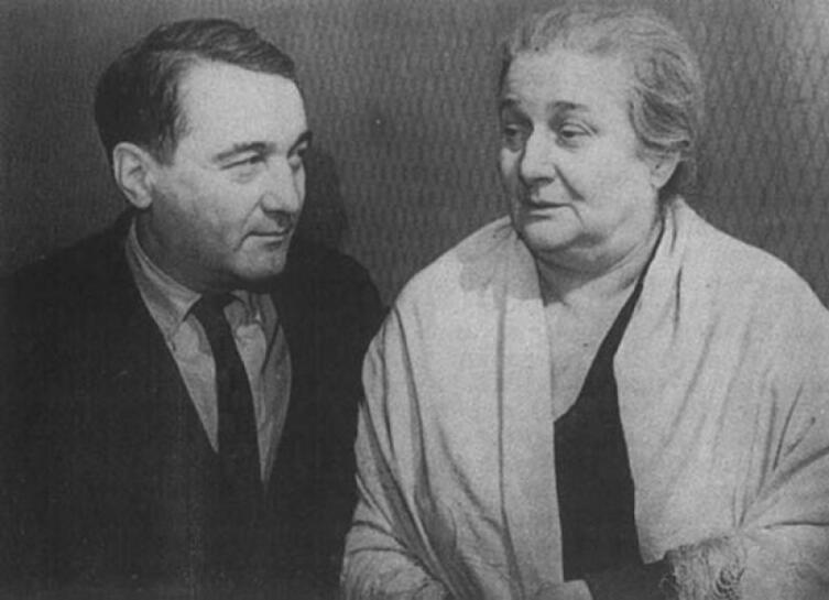 Лев Гумилев и Анна Ахматова, 1960 г.