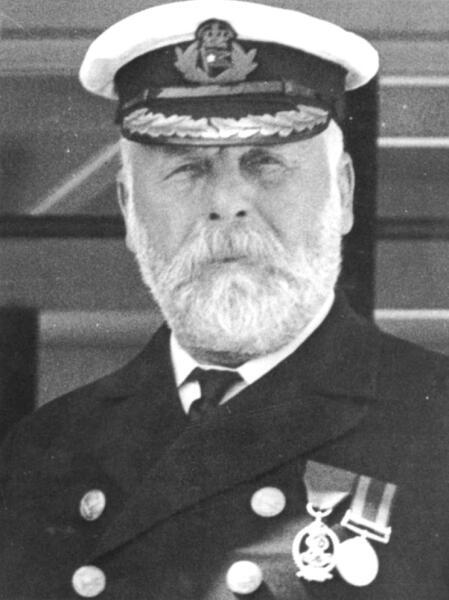 Капитан Эдвард Смит на борту «Титаника»