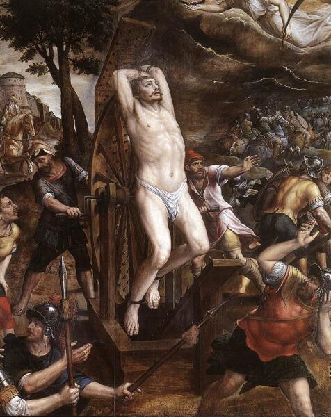 Микаэл ван Кокси, «Мученичество святого Георгия»